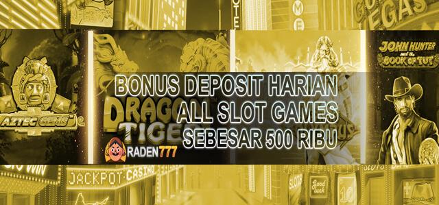 Deposit Harian Slot Games